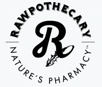 Graphic design for logo, product labels, packaging, sales and marketing materials and web site for Rawpothecary Goodz food and beverage