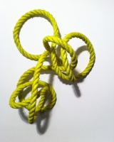 Anxiety Knot, Untitled 16in x 21in x 10in Dimensions Variable
